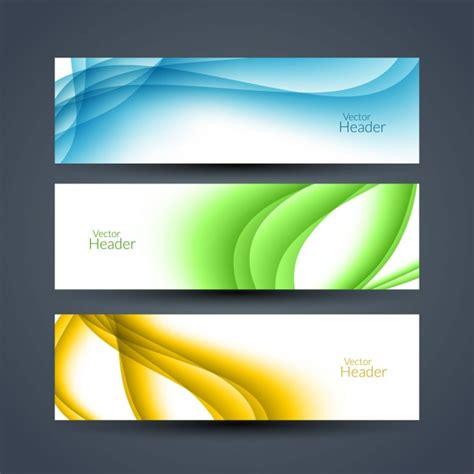 imagenes vectoriales para illustrator gratis encabezados ondulados coloridos descargar vectores gratis