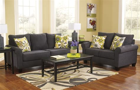 Grey Sofa And Loveseat Sets Ashley Furniture Homestore Cascade Village Shopping Center