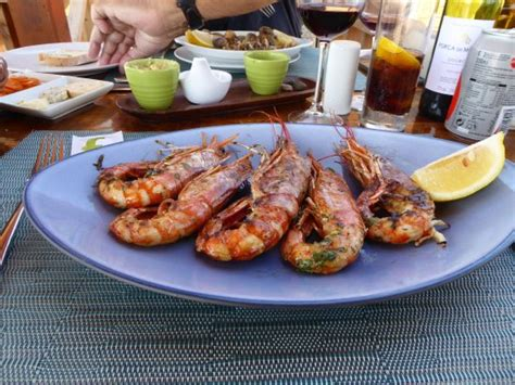 Gambas Grille by Gambas Grill 233 Es Picture Of Rocha Baixinha Vilamoura