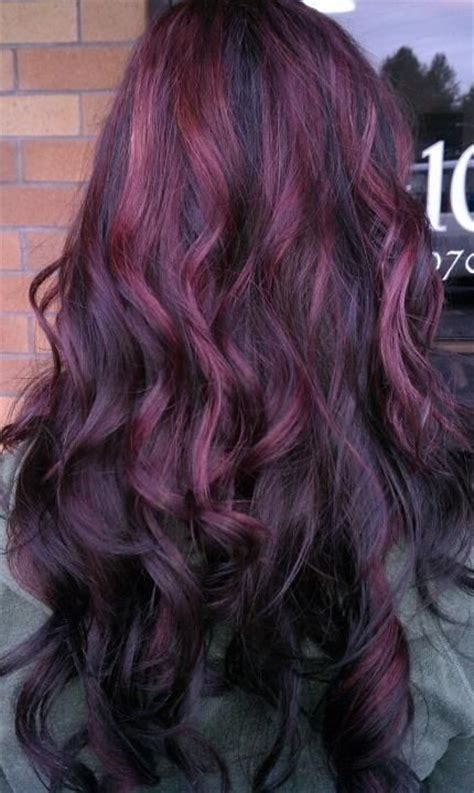 long hairstyles purple highlights purple highlights for summer pretty designs