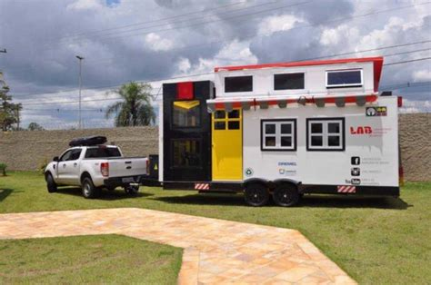 tiny house lab lego mobile tiny house lab for kids in brazil