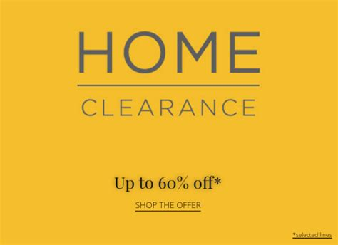 house of fraser uk sale house of fraser sale up to 60 home and furniture