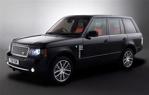 black land rover with black land rover range rover autobiography black 2011 cartype
