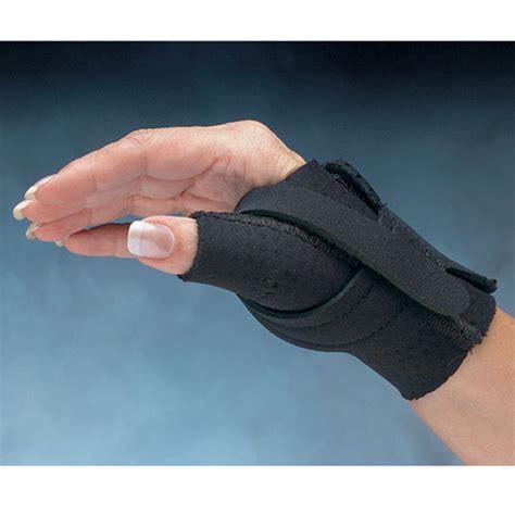 comfort cool thumb cmc restriction splint whiteley healthcare braces support thumb wrist nc79550