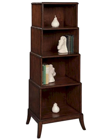 hekman tiered bookcase he 27221