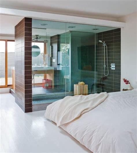 see through bathroom floor douche in slaapkamer i love my interior