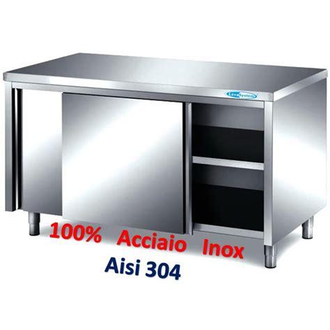 tavolo armadiato inox tavoli armadiati inox attrezzature e forniture