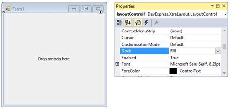 devexpress layout manager tutorial tutorial creating a simple layout form layout managers