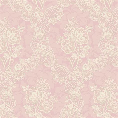 lace pattern hd 522 30204 pink lace floral fairwinds studio wallpaper