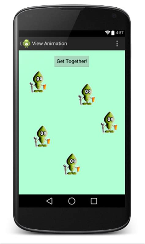 layout animation in android xml beginner s guide to android animation graphics codeproject