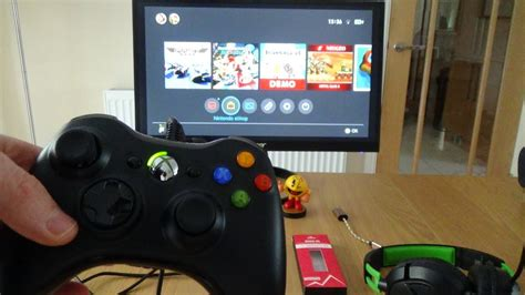 how to use 360 how to use a xbox 360 controller on the nintendo switch