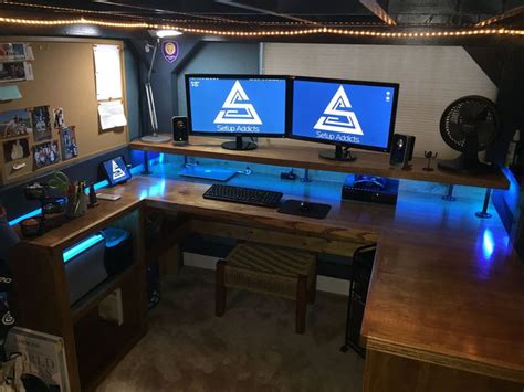 best 25 custom gaming desk ideas on pc gaming