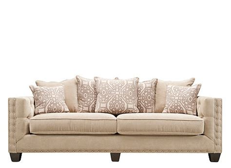 hm richards couch cindy crawford calista microfiber sofa dynasty mouse