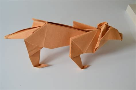 Origami Tiger - top 25 ideas about franlys way the of frances de