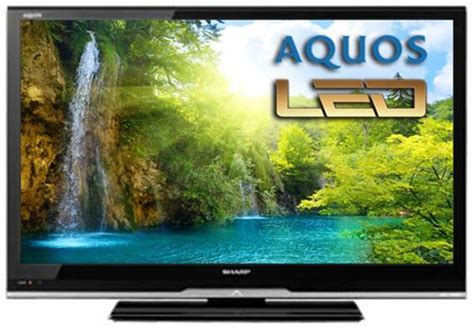 Tv Aquos 24 In sharp lc 32le240m 32 quot multi system led tv 110 220 240 volts pal ntsc