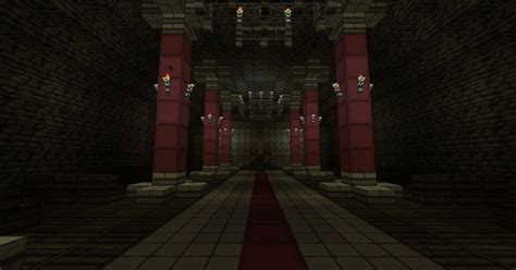 minecraft throne room castle minecraft project