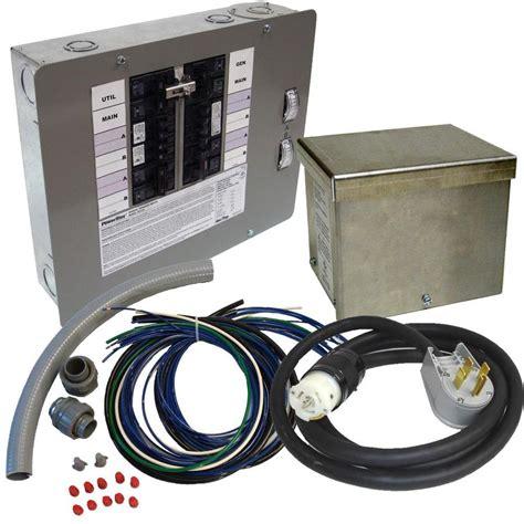 Switch Genset shop generac 50 12 to 16 circuit manual transfer