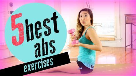 effective ab exercises youtube