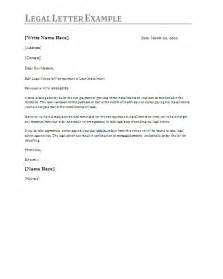 legal notice letter template formsword word templates