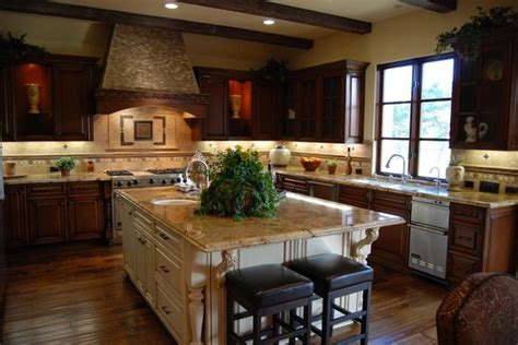 mediterranean style kitchens tuscan style projects
