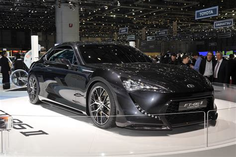 ft 86 ii geneva 2011 toyota ft 86 ii concept one step closer