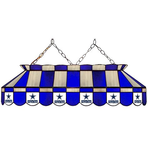 dallas cowboys 40 in stained glass pool table l
