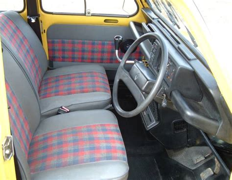renault 4 interior driving a renault 4 one year on
