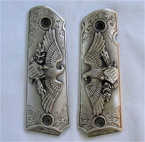 ebay sid bell apexwallpapers com new usa made american eagle1911 colt grips in pewter by