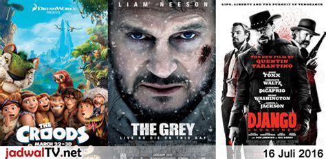 jadwal film merah putih 2016 jadwal film dan sepakbola 16 juli 2016 jadwal tv