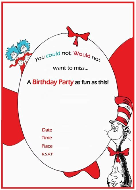 free dr seuss invitation templates dr seuss birthday invitation free template invitations