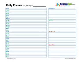 free day planner template day planner template e commercewordpress 6 printable day planner templates free word excel pdf
