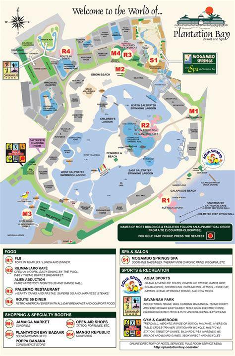 karancho resort cebu map plantation bay resort and spa hotel map