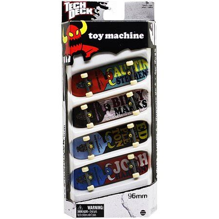 Tech Deck Fingerboard By B Toys tech deck fingerboard 4 pack machine walmart