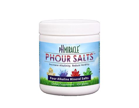 phour salts ph miracle greens health products