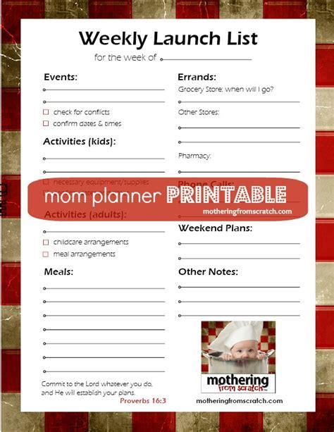 mom planner printable free free mom planner printable melinda means