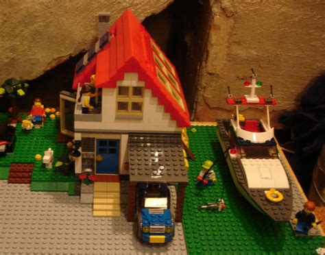 lego boat house lego creator 5771 hillside house i brick city