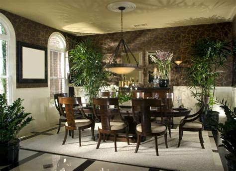 tropical dining room ideas