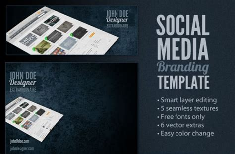 Social Media Branding Templates Social Media Branding Template Psd File Free Download