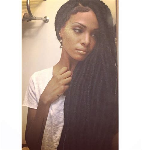 easy way to do faux marley locks celebrities love faux locs fashion bomb daily style