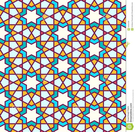 arab traditional pattern tangled pattern based on traditional islam pattern stock