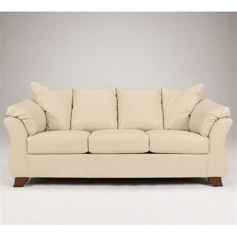 San Marco Sofa by San Marco Durablend Ivory Sofa Signature Design