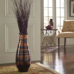 home decor vases copperworks round floor vase modern home decor