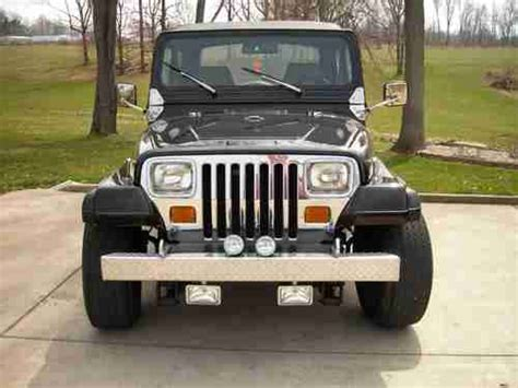 Rebuilt Jeep Engines Buy Used 1989 Jeep Wrangler Laredo Yj Rebuilt Engine With