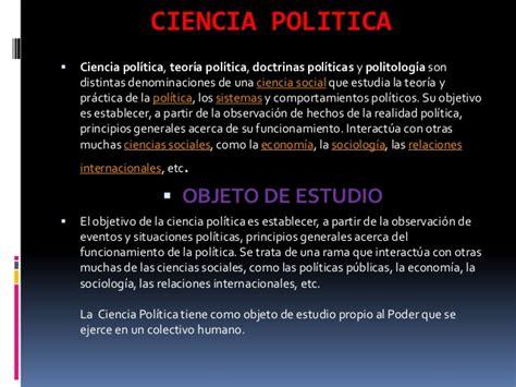 La Politica Politik 1 ciencia politica