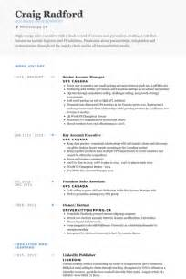 senior accounts executive resume sles 28 images senior
