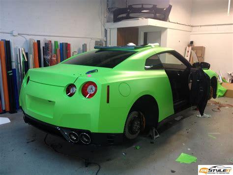 matte lime green jeep matte lime green nissan gtr vehicle customization shop