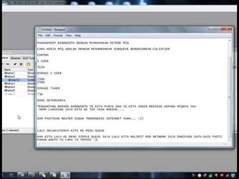 cara membuat vpn di mikrotik rb750 tutorial mikrotik cara membagi bandwidth doovi