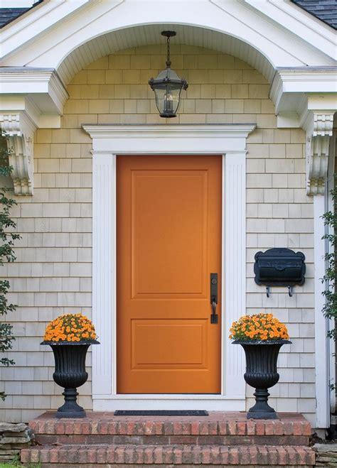 orange front door best 25 orange front doors ideas on pinterest