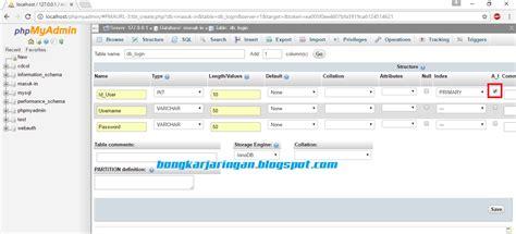 tutorial php sederhana tutorial membuat halaman login sederhana menggunakan php