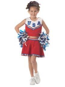 kid cheerleader halloween costumes child patriotic cheerleader costume 00411 fancy dress ball